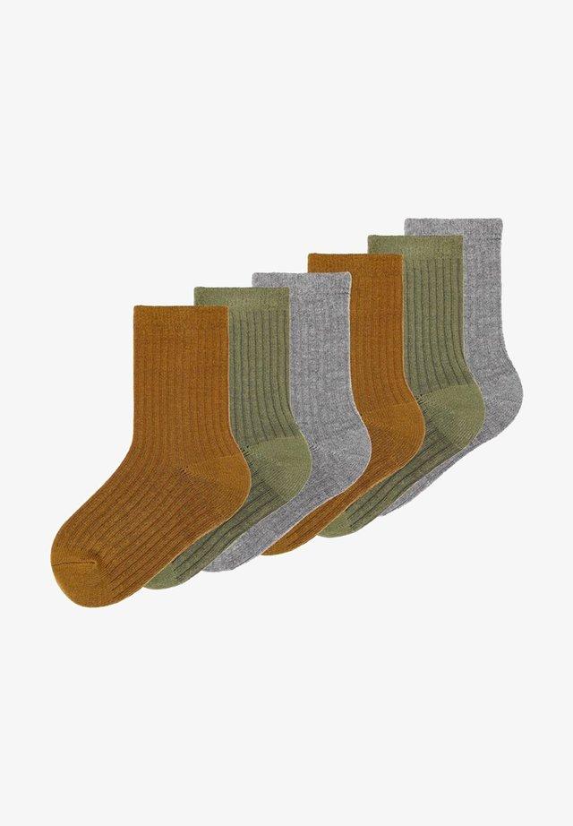 6 PACK  - Socks - dark grey melange