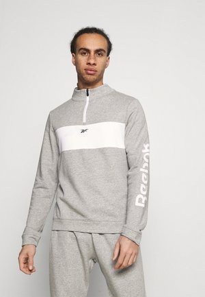 LINEAR LOGO SET - Dres - medium grey heather