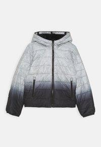 Abercrombie & Fitch - COZY PUFFER - Talvitakki - grey/black - 0