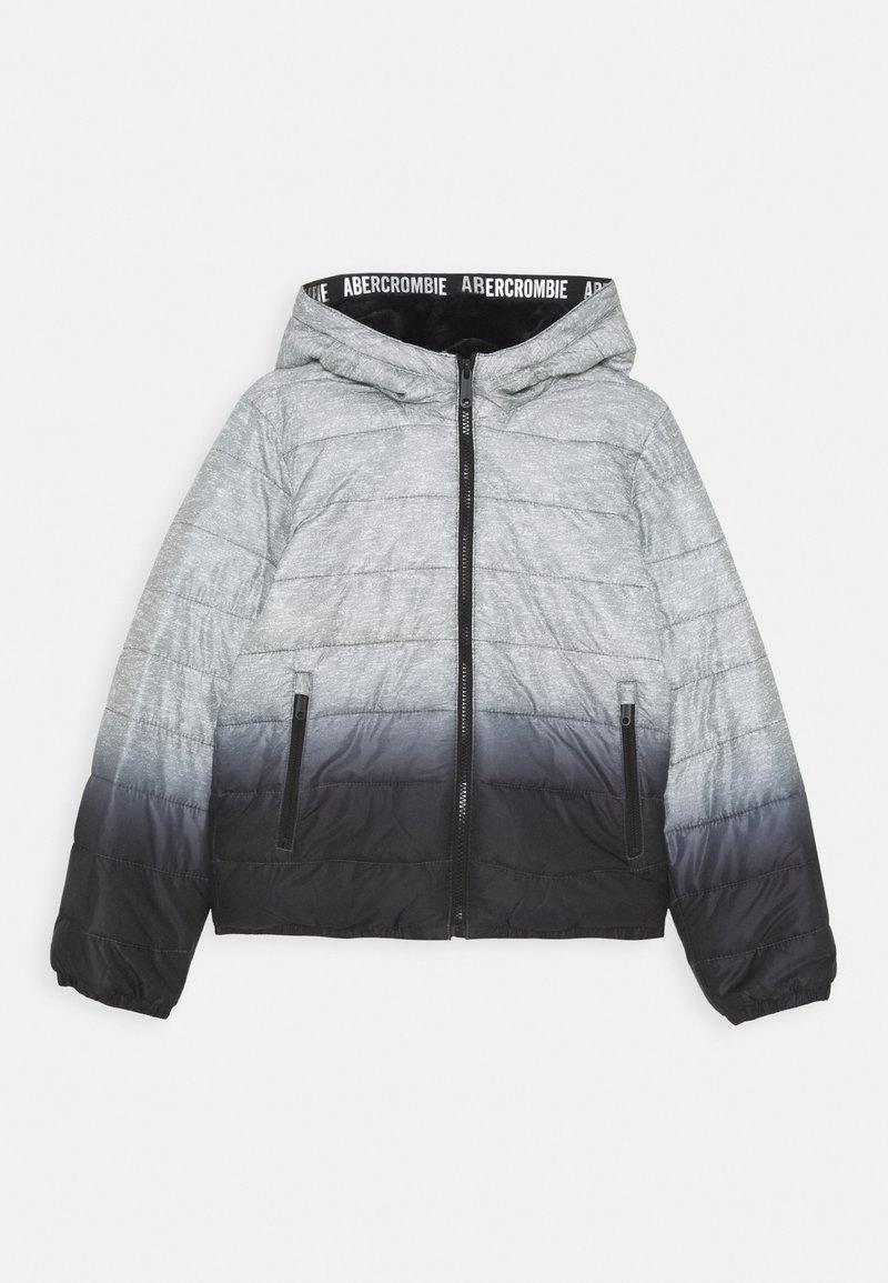 Abercrombie & Fitch - COZY PUFFER - Talvitakki - grey/black