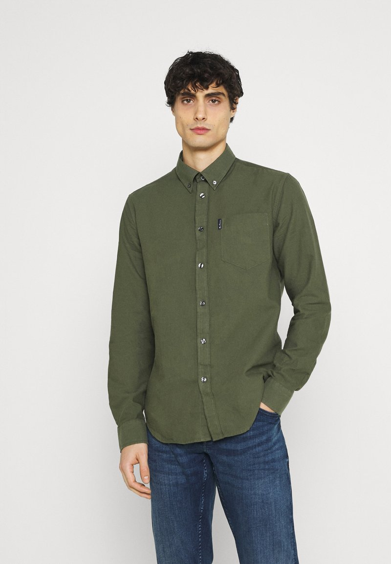 Ben Sherman - SIGNATURE OXFORD  - Shirt - loden green