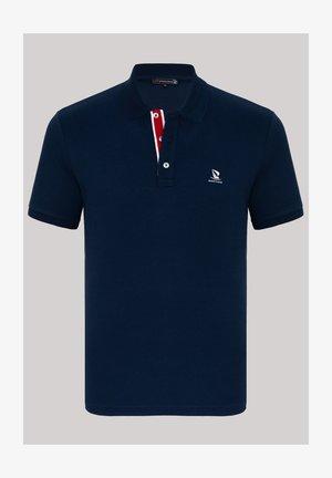 Polo shirt - navy/ecru