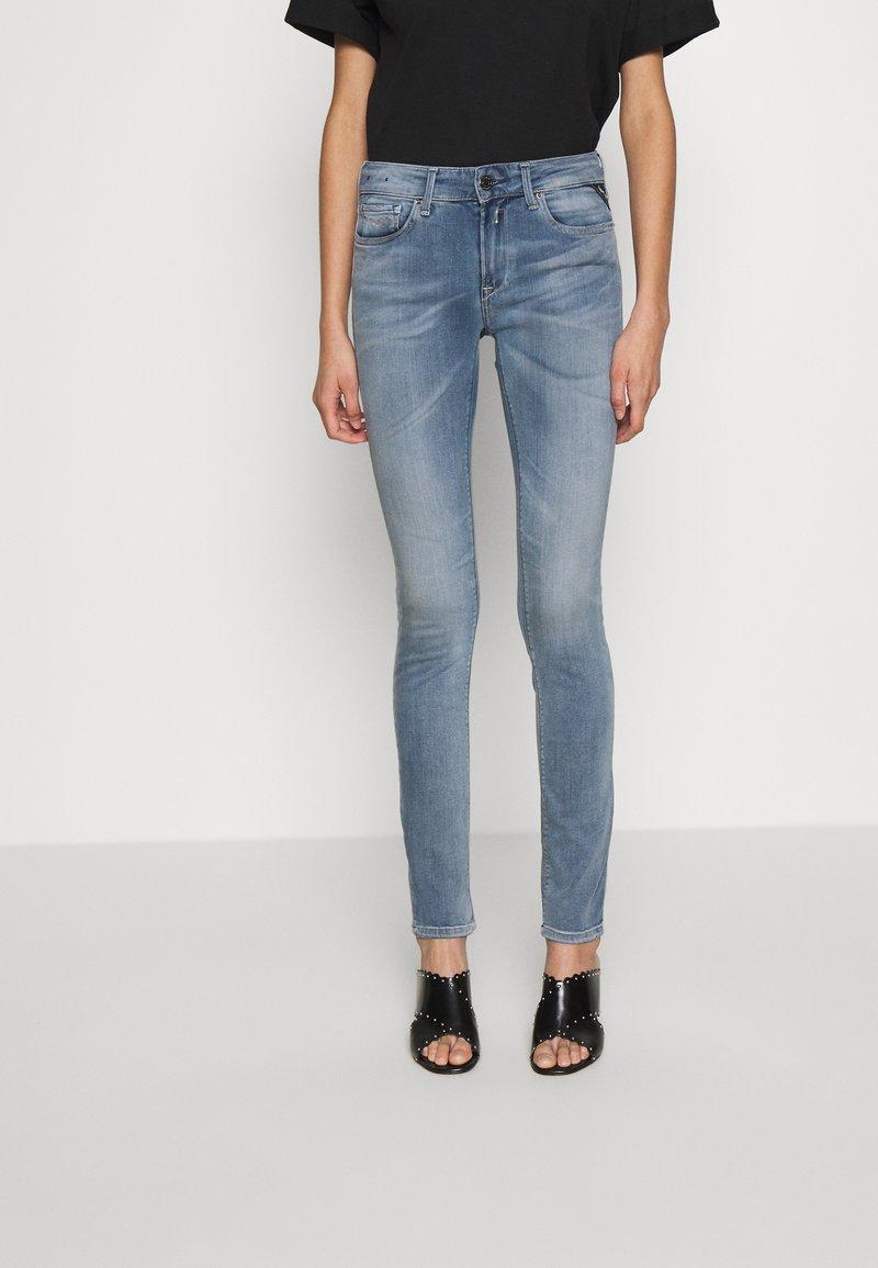 Replay - NEWLUZ HYPERFLEX - Jeans Skinny Fit - medium blue