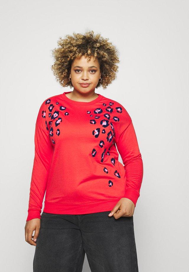 ANIMAL FLOCK - Sweater - pink