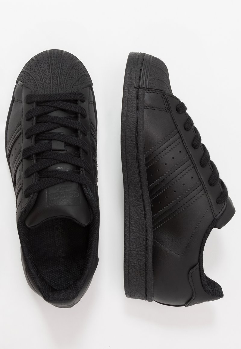adidas Originals - SUPERSTAR - Sneakersy niskie - core black