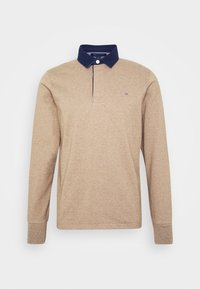 THE ORIGINAL HEAVY RUGGER - Poloshirt - sand melange