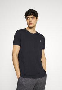 Marc O'Polo - SHORT SLEEVE - T-paita - shirt dark blue - 0