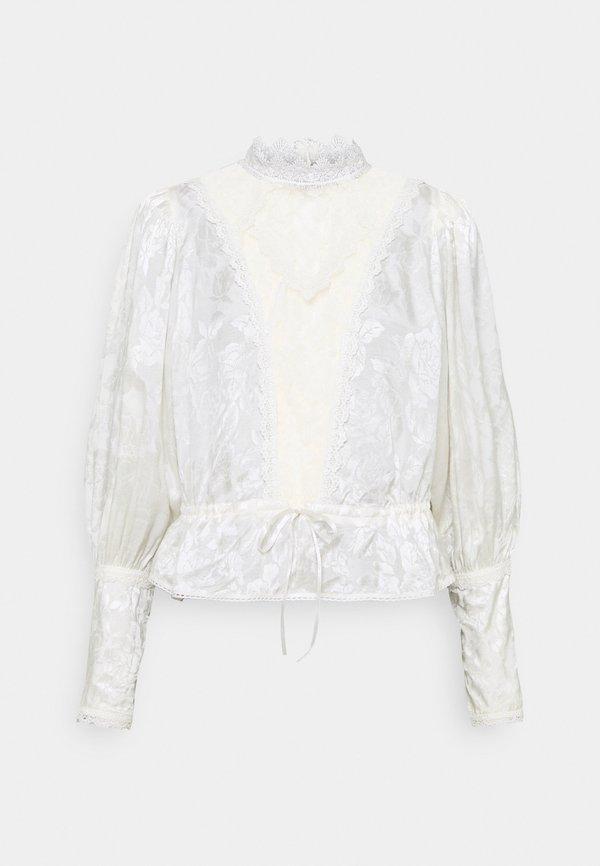 byTiMo BLOUSE - Bluzka - vintage/biały VMKJ