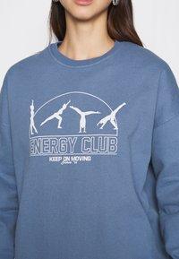 Topshop - ENERGY  - Sweatshirt - blue - 5
