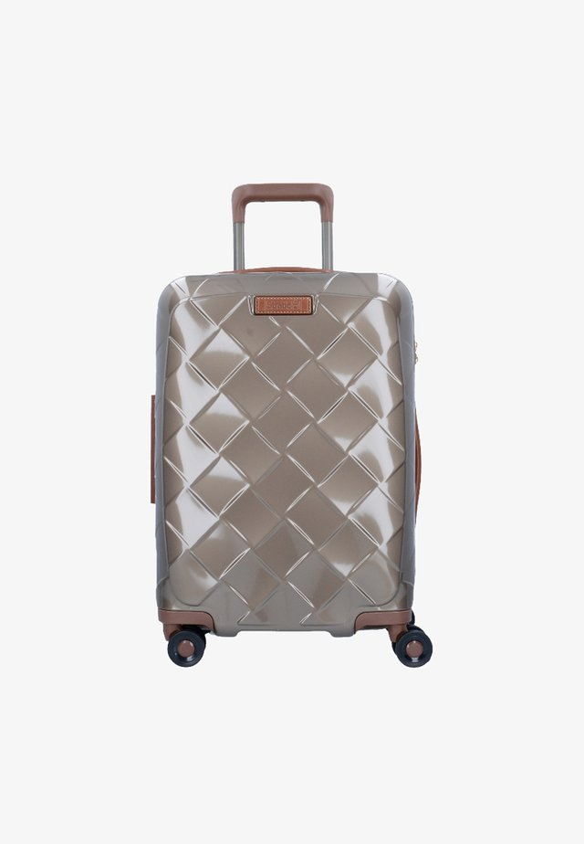 Wheeled suitcase - champagne