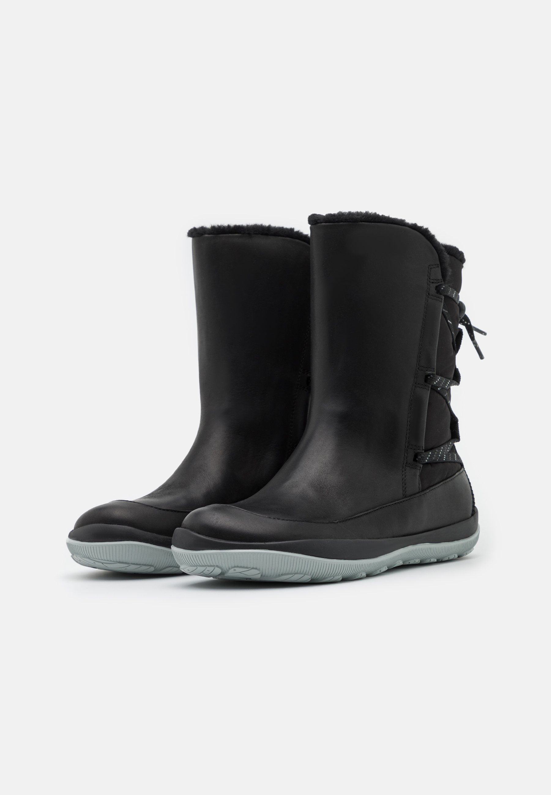 Camper PEU PISTA Snowboot/Winterstiefel black/schwarz