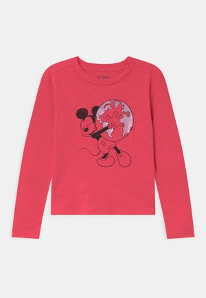 GIRL DISNEY MINNIE MOUSE - Top s dlouhým rukávem - rosehip