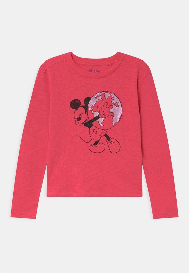 GIRL MINNIE MOUSE - Maglietta a manica lunga - rosehip