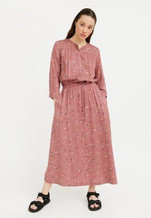 Maxi dress - dark pink