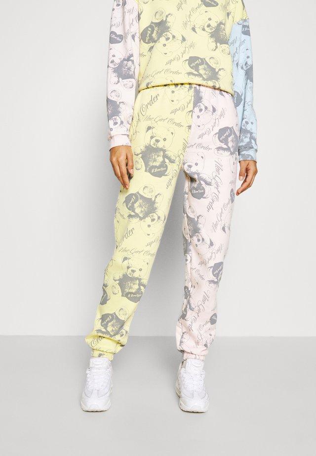 BEAR PANEL - Pantalon de survêtement - multi