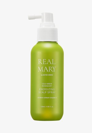 REAL MARY ENERGIZING SCALP SPRAY - Hair treatment - -