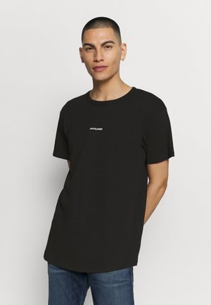 RAW CREW NECK - T-shirt - bas - black