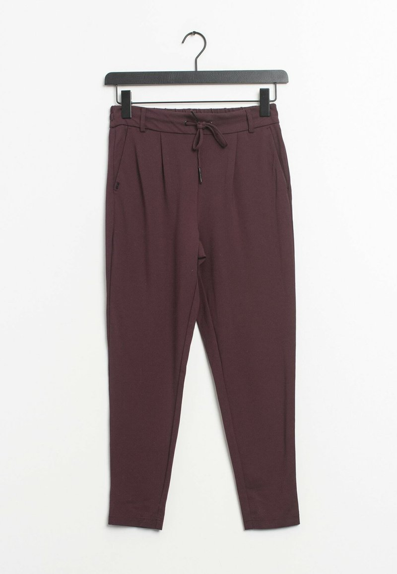 ONLY - Trousers - red