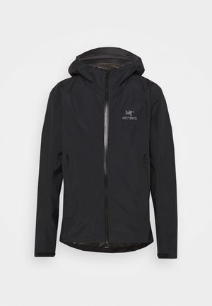 ZETA SL JACKET MENS - Hardshell jacket - black
