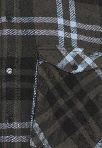 Tigha - LANDO - Overhemd - stone grey/black/ice blue - 2