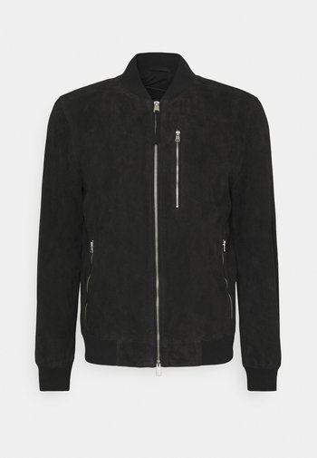 KEMBLE  - Leather jacket - black