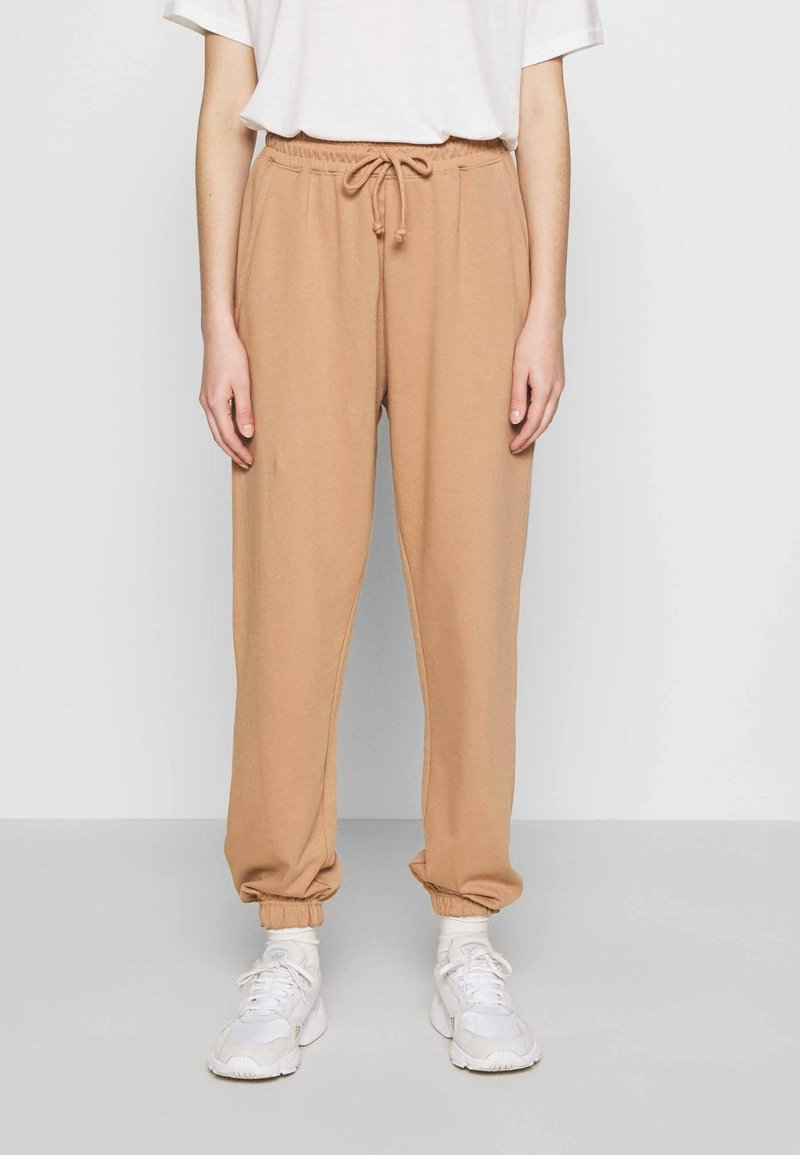 Missguided - Tracksuit bottoms - camel