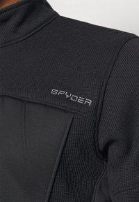 Spyder - BANDIT HYBRID - Fleecejacka - black - 7