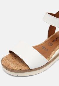 Tamaris - Platform sandals - white - 6