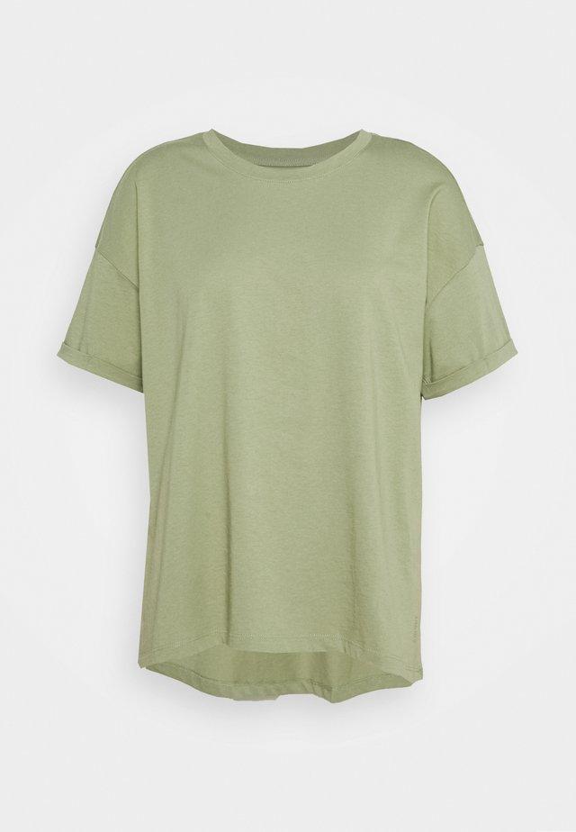 CORE  - Jednoduché triko - light khaki