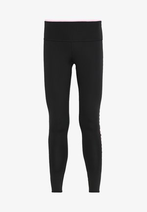 MODERN SPORTS FOLDUP LEGGING - Leggings - black/pale pink
