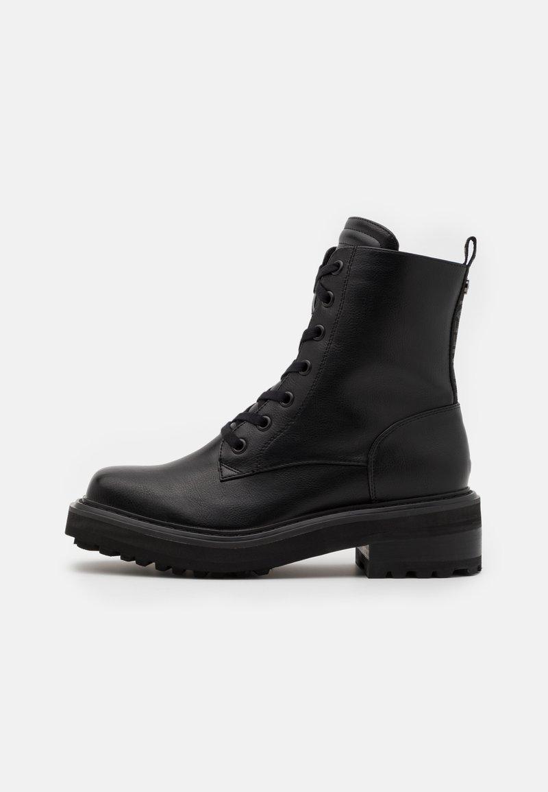 Buffalo - QUANDA - Lace-up ankle boots - black