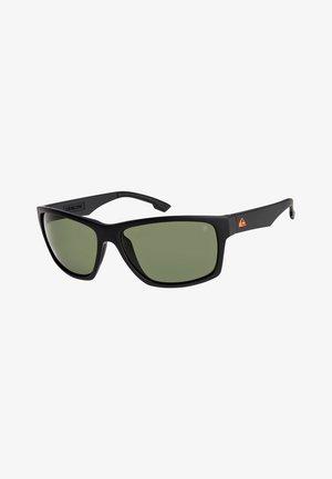 TRAILWAY  - Zonnebril - matte black/green polarized
