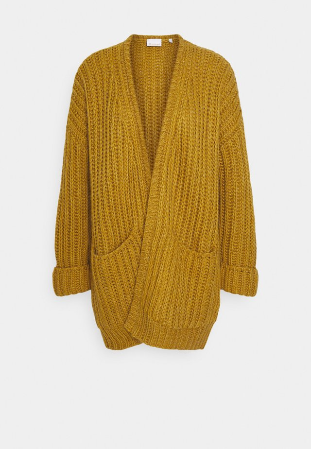 Cardigan - golden yellow