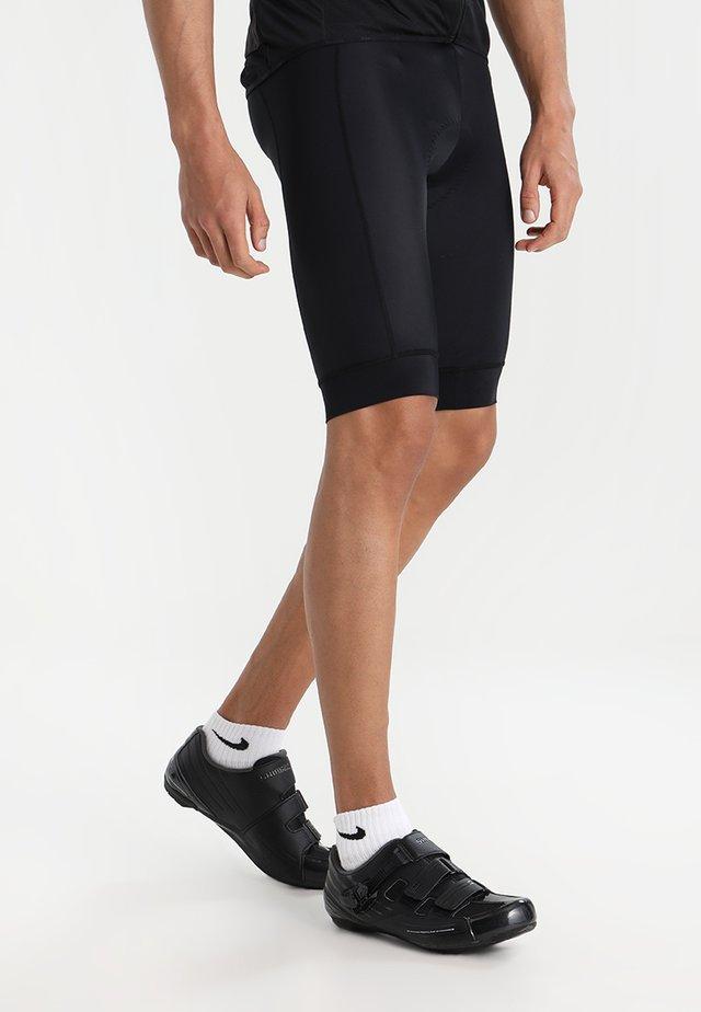 RISE SHORTS - Pantalón corto de deporte - black