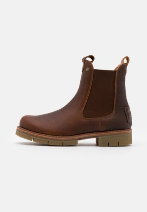 FILIPA IGLOO NATURE - Platform ankle boots - bark