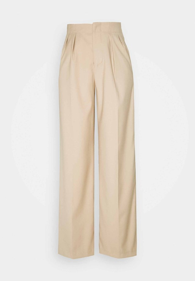 AISLYN - Trousers - stone