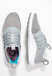 Puma Golf - IGNITE NXT SOLELACE - Golf shoes - quarry/caribbean sea - 1