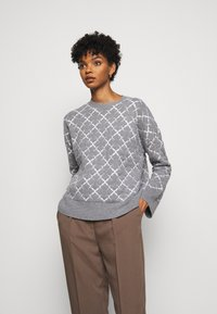 By Malene Birger - REESIAH - Jumper - med grey melange - 0