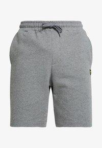 Lyle & Scott - Shorts - mid grey marl - 4