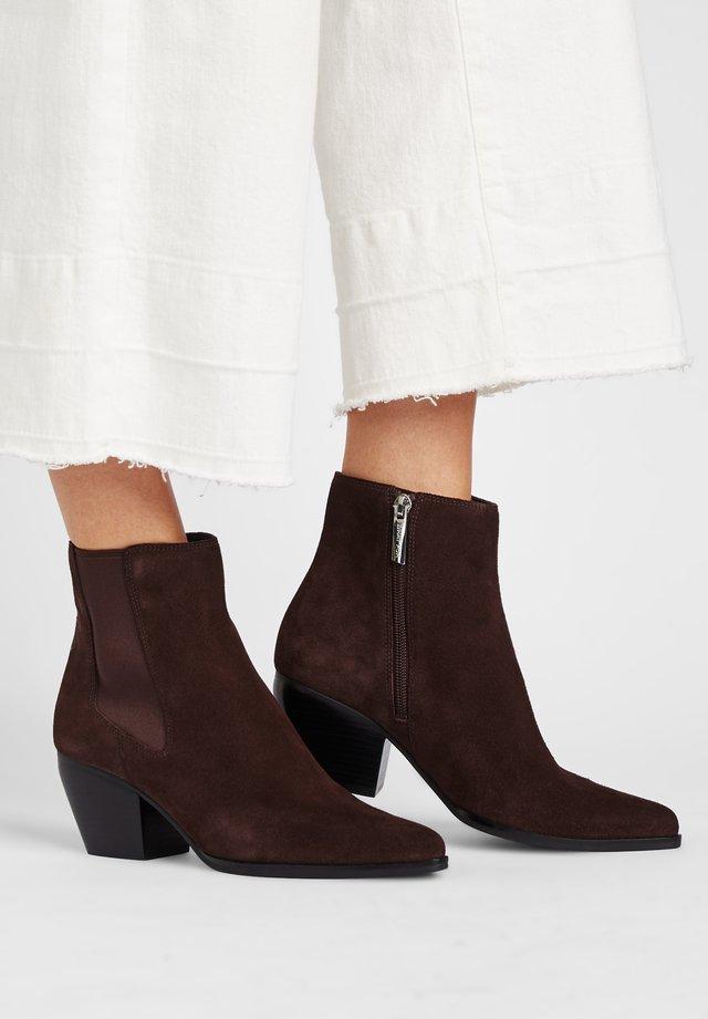 SCAVO - Ankle boots - espressobraun