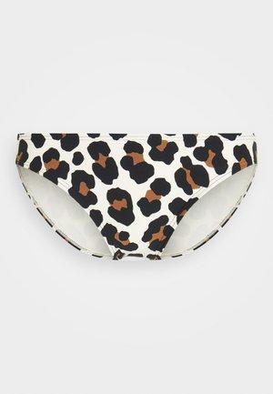 LARGE LEOPARD CLASSIC BOTTOM - Bikini bottoms - caramel