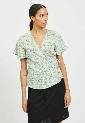 VILOVIE WRAP - Print T-shirt - cashmere blue