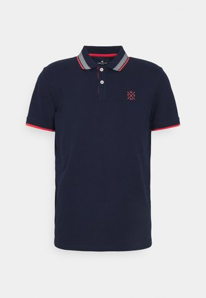 UNDERCOLLAR WORDING - Polo shirt - sailor blue