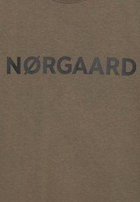 Mads Nørgaard - ORGANIC SOLOMINO - Sweatshirt - morel - 2