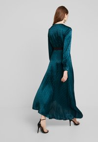 Little Mistress - TASMIN POLKA DOT ASYMMETRIC WRAP DRESS - Juhlamekko - green - 3