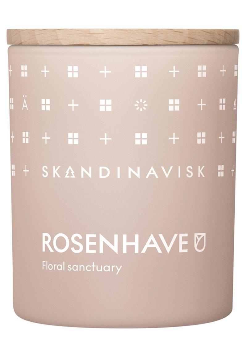 Skandinavisk - SCENTED CANDLE WITH LID - Duftkerze - rosenhave