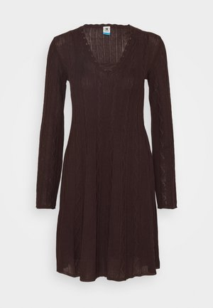 ABITO - Jumper dress - bordeaux