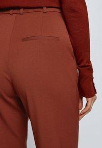 BOSS - TISLETTI - Trousers - brown - 3