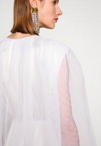 MM6 Maison Margiela - Společenské šaty - white - 6