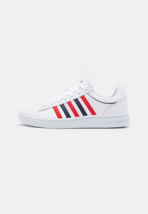 COURT WINSTON - Trainers - white/red/navy